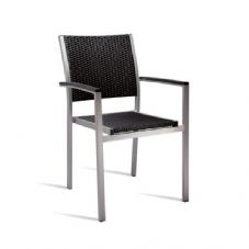 Vanna Sun Arm Chair - Black